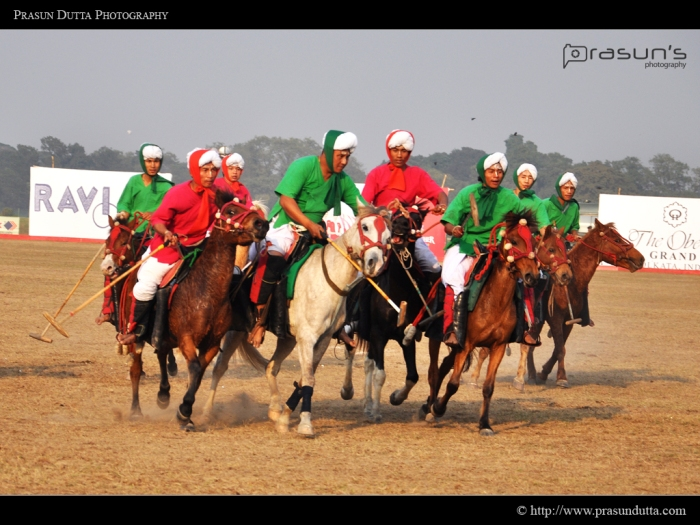 Manipuri Polo Players