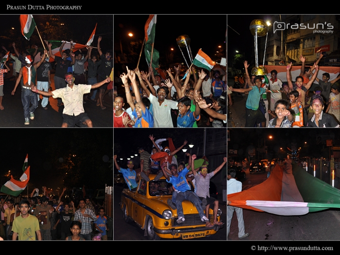 Cricket World Cup 2011 - Celebration