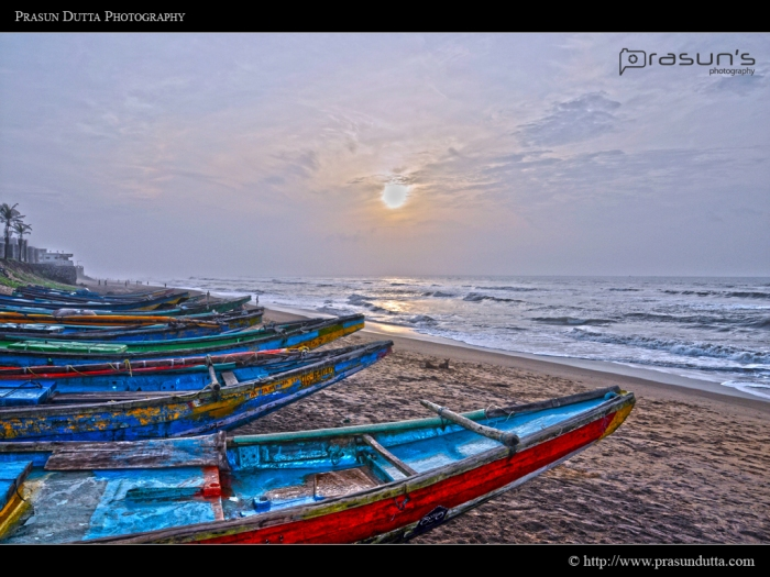 Sunrise at Gopalpur
