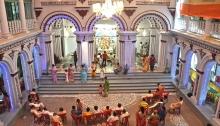 Laha Bari Durga Pujo