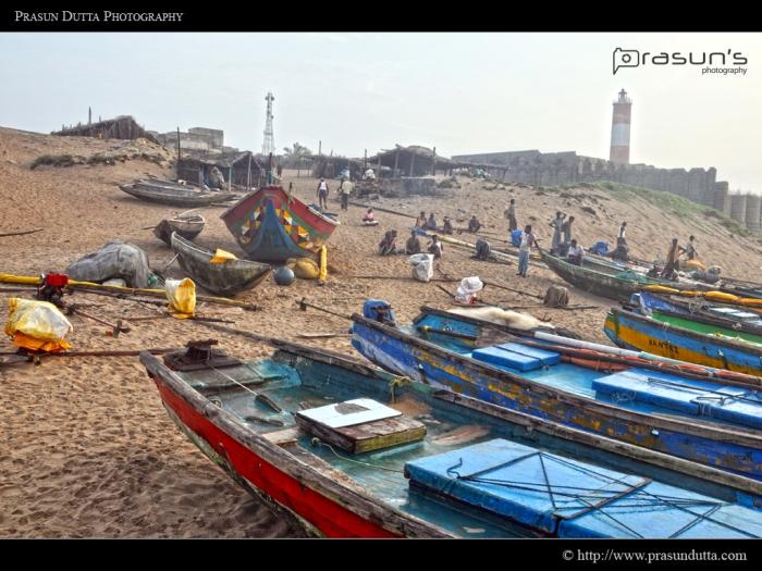 Gopalpur Fishermen Locality