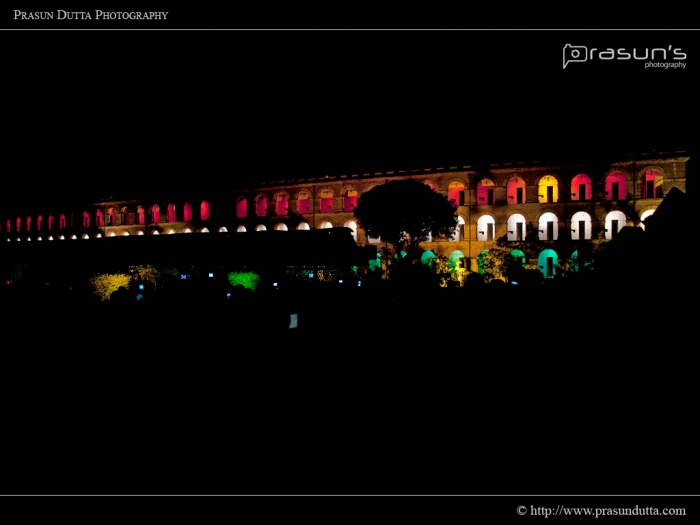 Cellular Jail (Night)