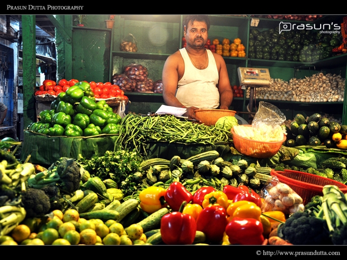 Fresh Vegetables Shop