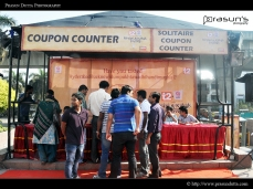 Biriyani Kebab Festival - Coupon Counter