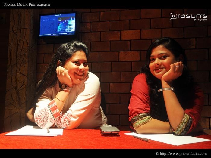 Same Pose Ishani & Ankita