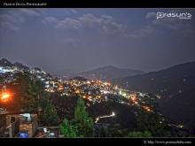 Gangtok City Night View
