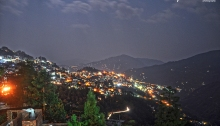 Gangtok City Night View