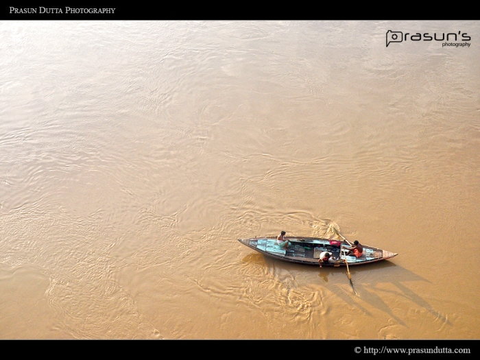 Varanasi - Golden Hour - Boat